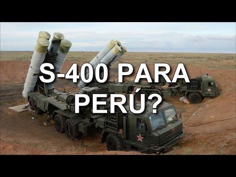 ¿POR QUÉ SERÁ QUE HAY CADETES PERUANOS APRENDIENDO A USAR EL S-400 RUSO?
