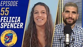 Felicia Spencer ready to shock the world by beating Cris Cyborg | Ariel Helwani's MMA Show