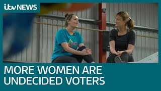 More undecided voters are women than men - but in a thoughtful way | ITV News