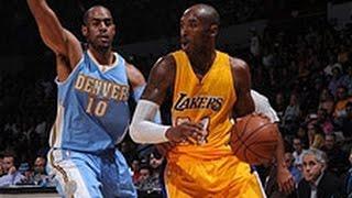 Kobe Drops 13 in 201415 Preseason Debut