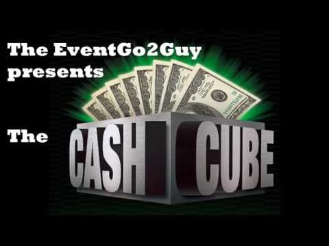The Cash Cube The Money Machine for Boston Events It's a Blast!