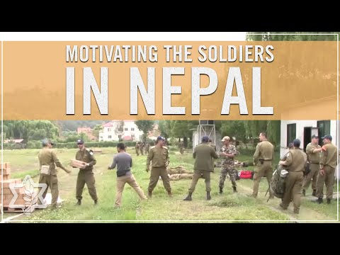IDF Mission Commander in Nepal Motivates his Soldiers