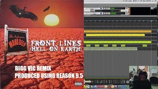 "MOBB DEEP ""FRONT LINES"" BIGG VIC REMIX BEAT IN PROPELLERHEAD REASON 9.5  