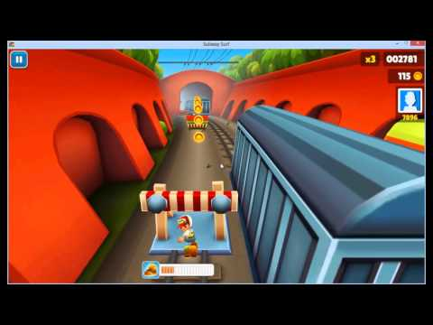 subway surf per pc ep°3!