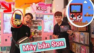Siêu phẩm Máy bắn Son Trúng iphone, Game box SUP 400 in 1 ( Claw iphone) Lạ Vlog