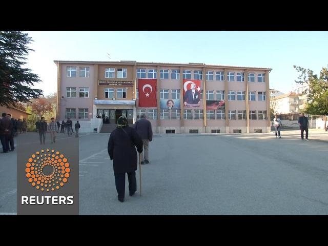 Voting begins in Turkey's referendum on expanding Erdogan's power