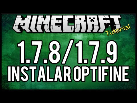 TutorialComo instalar OptiFine HD 1.7.2 1.7.4 Minecraft