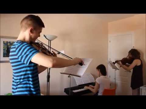 Trestacato Trío - Rolling In The Deep (Adéle - Violín, Viola, Piano)