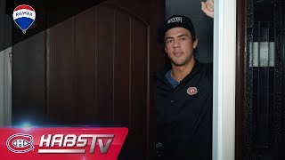 CHez Ryan: A tour of Ryan Poehling's house (Habs Cribs)