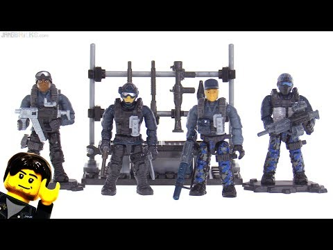 Mega Construx Call of Duty Surface Troops review