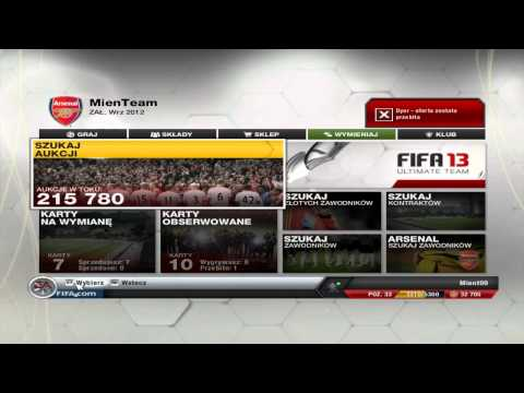 Fifa 13 Ultimate Team [#20] - Jak Zarabiać Te Cholerne Monety?!
