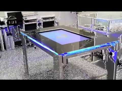 Tavolo Multitouch TRtable