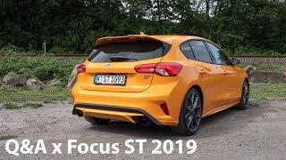 2019 Ford Focus ST: Eure Fragen - Fabian antwortet (Emotion, Vergleich i30N, Sitze,...) - Autophorie