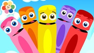 Learn Colors With Color Crew   All The Colors For Kids   BabyFirst TV