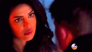 Priyanka Chopra Kiss scene in QUANTICO Epsd.17.