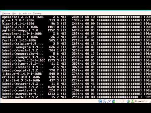 Установка ОС Arch GNU / Linux