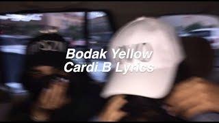 Download Lagu Bodak Yellow || Cardi B Lyrics Gratis STAFABAND