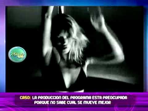 Comparan un baile del tubo en video entre Kate Moss y la cantante Shakira 13/06/2011