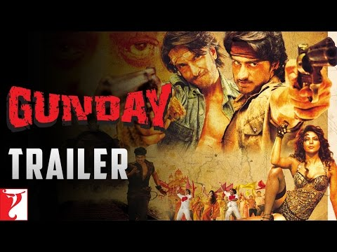 Gunday - Trailer - Ranveer Singh | Arjun Kapoor | Priyanka Chopra | Irrfan Khan video