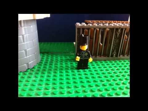 Нападение Зомби,Лего мультик.Странные звуки.