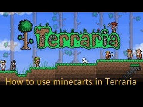 Minecart Tracks Terraria Terraria How to Use Minecart