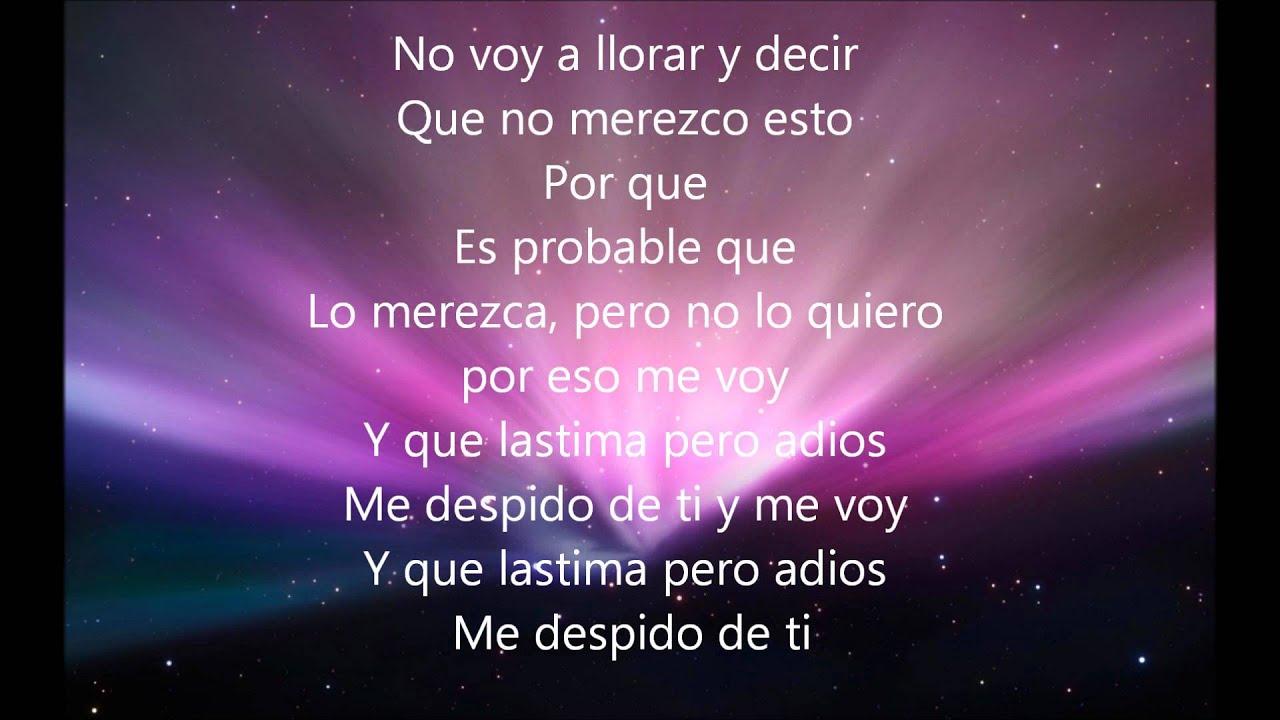 Gerardo Ortiz - Me Voy Con Letra HD - YouTube