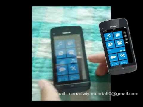 Modding UI Symbian v5 (Nokia C5-03) to WP 7.5 (Nokia Lumia 800).mp4