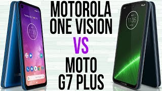 Motorola One Vision vs Moto G7 Plus (Comparativo)
