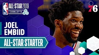 Joel Embiid 2019 All-Star Starter | 2018-19 NBA Season