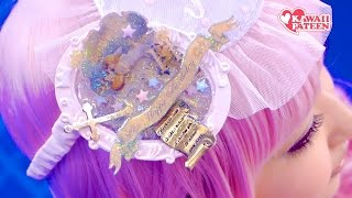 how-to Japanese Kawaii hair clip ACCESSORY TUTORIAL Handmade by fashion designer|可愛いヘアアクセ手作り講座