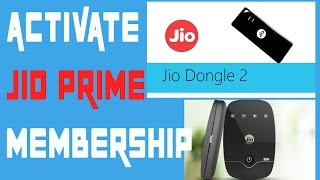 Jio Prime Membership Plan // How to Activate Reliance [Jio Dongle, JioFi, miFi ]