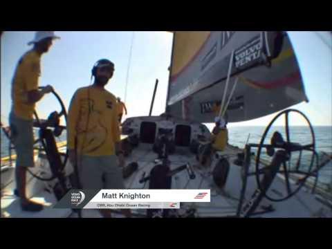Live Arrivals Abu Dhabi | Volvo Ocean Race 2014-15