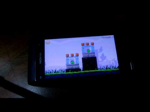 Nokia N8 Angry Birds Lite demo by my4keys
