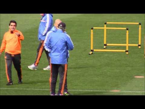 Reunión Ancelotti con Zidane | Diario Bernabéu