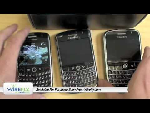 BlackBerry Tour pre-market Unboxing -- Video Review