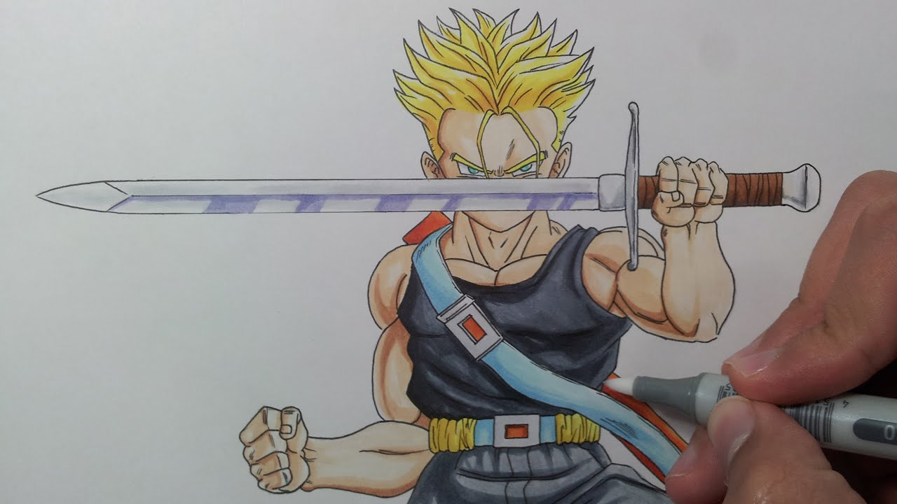 Ssj Drawing Drawing Future Trunks Ssj