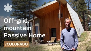 Designer builds efficient off-grid Passive House in Colorado