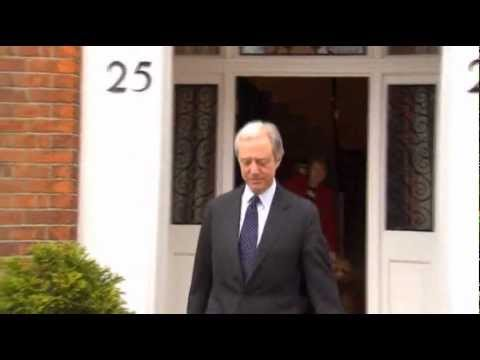 Raw Video: Barclays Chairman Resigns