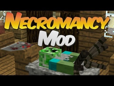Некромантия и 1000 НОВЫХ МОБОВ! Обзор модов Minecraft 1.7.2
