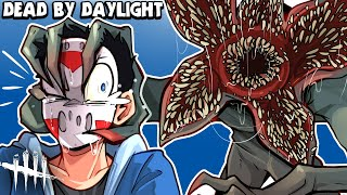 Dead By Daylight -  STRANGER THINGS DLC! (New Killer, Survivors & Map!) Demogorgon!!!!