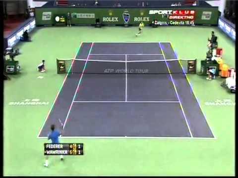 Roger Federer vs Stanislas Wawrinka - ATP Masters Shanghai HIGHLIGHTS 11.10.2012