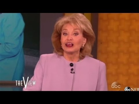 Barbara Walters Says Goodbye To 'The View'