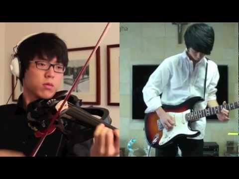 Canon Rock - Jun SungAhn & Jung SungHa Music Videos