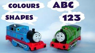 Peppa Pig Play Doh Thomas The Train ABC 123 Colours Shapes Sesame Street