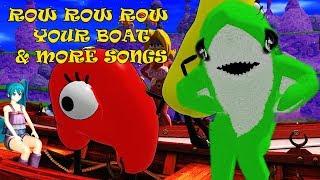 Row Row The Boat & More Song | Kids Songs | Nursery Rhymes |  Baby Songs | Children Songs