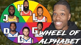 WHEEL OF ALPHABET REBUILDING CHALLENGE IN NBA 2K19