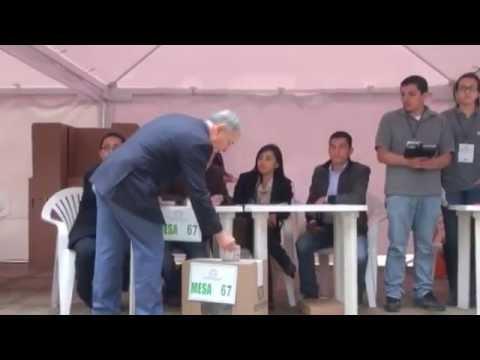 Uribe denuncia amenazas de las Farc contra seguidores de Zuluaga