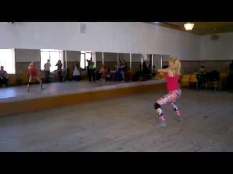Reggaeton workshop - Ksenia Chkalova - Kherson (S-Club)