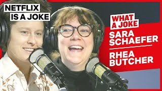 Rhea Butcher's Adult Baseball Team & Sara Schaefer's Etsy Shop | What A Joke | Netflix Is A Joke