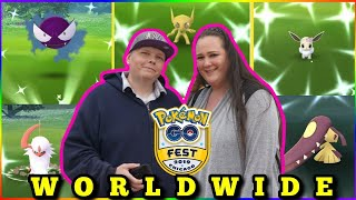 🚨 LiVE 🚨 Pokemon GO FEST WORLDWiDE NOW !! iRL 🍭 LET'S GET THOSE SHINY'S ✨